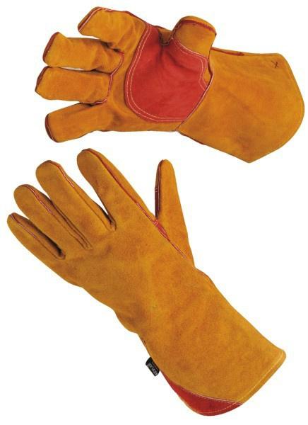 rękawice spawalnicze z dwoiny - rękawice ochronne- sklep bhp warszawa