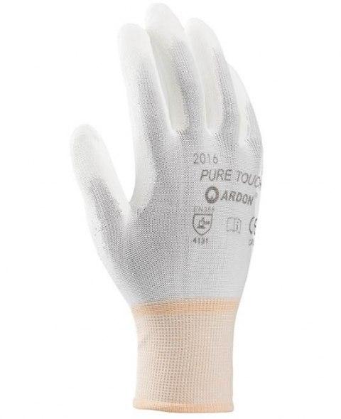 rękawice robocze powlekane Poliuretanem PU na produkcję - hurtownia i sklep bhp