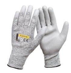 rękawice antyprzecięciowe powlekane poliuretanem pu